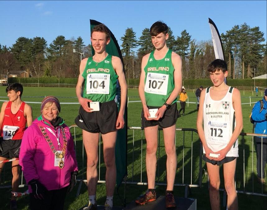 Gold medal glory for Longford athlete Cian McPhillips at