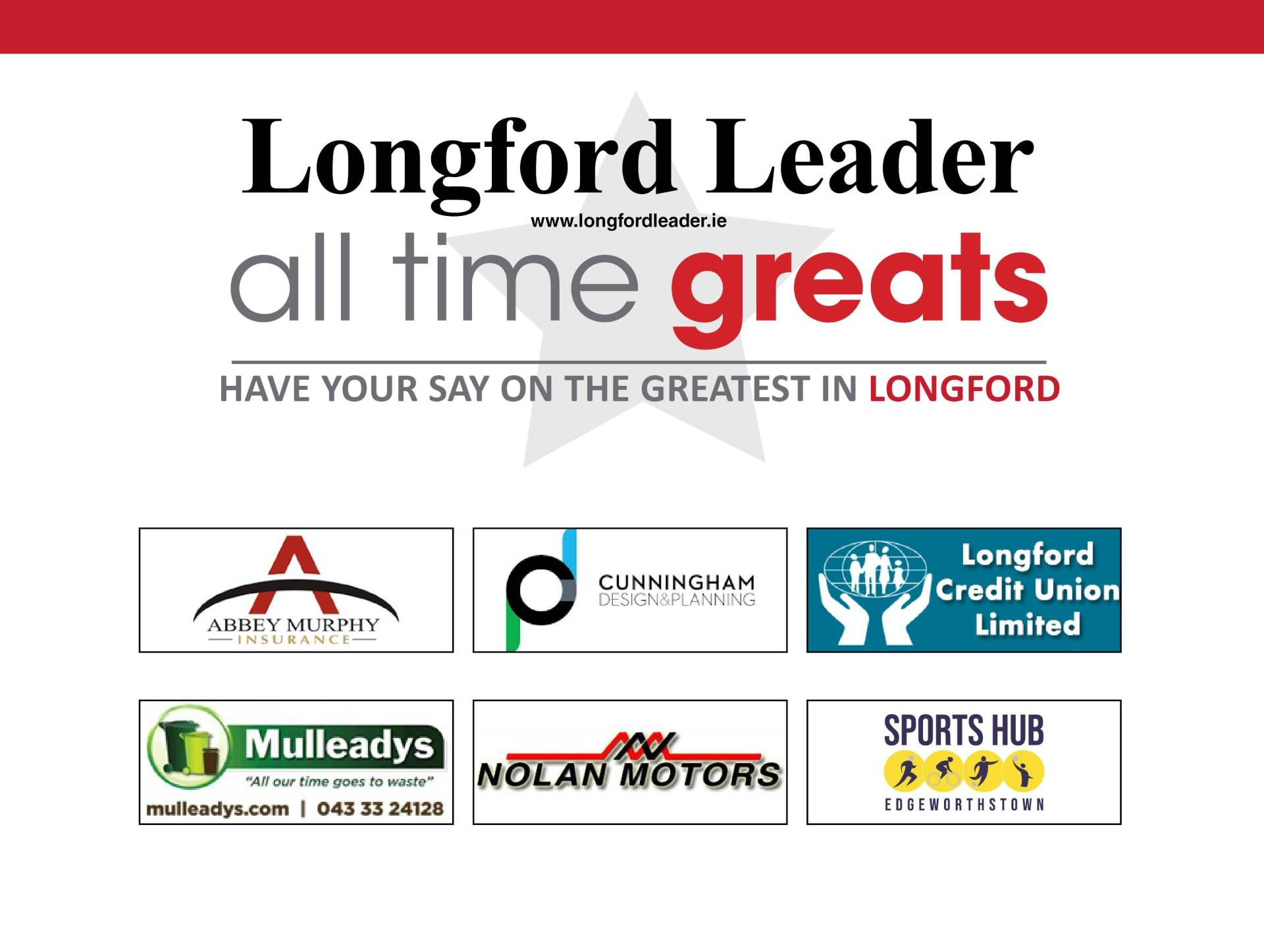 VOTE | Longford's All Time Great - Semi-final Poll #2: Ray