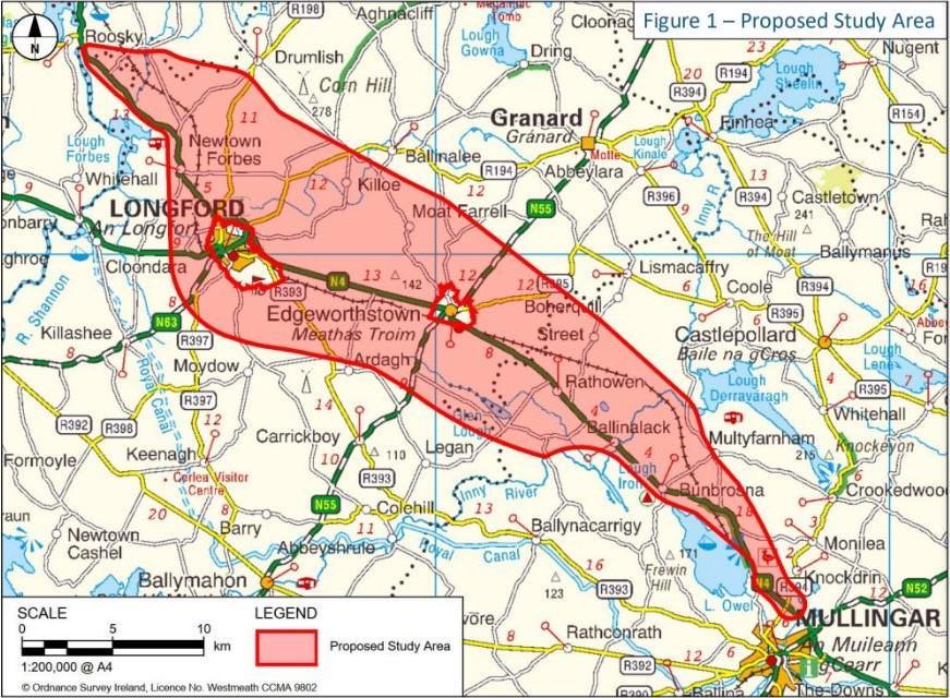 Public consultation to be held on N4 Mullingar - Longford