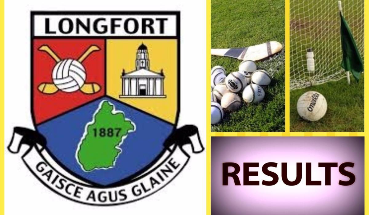 Longford GAA results scoreboard - Longford Leader