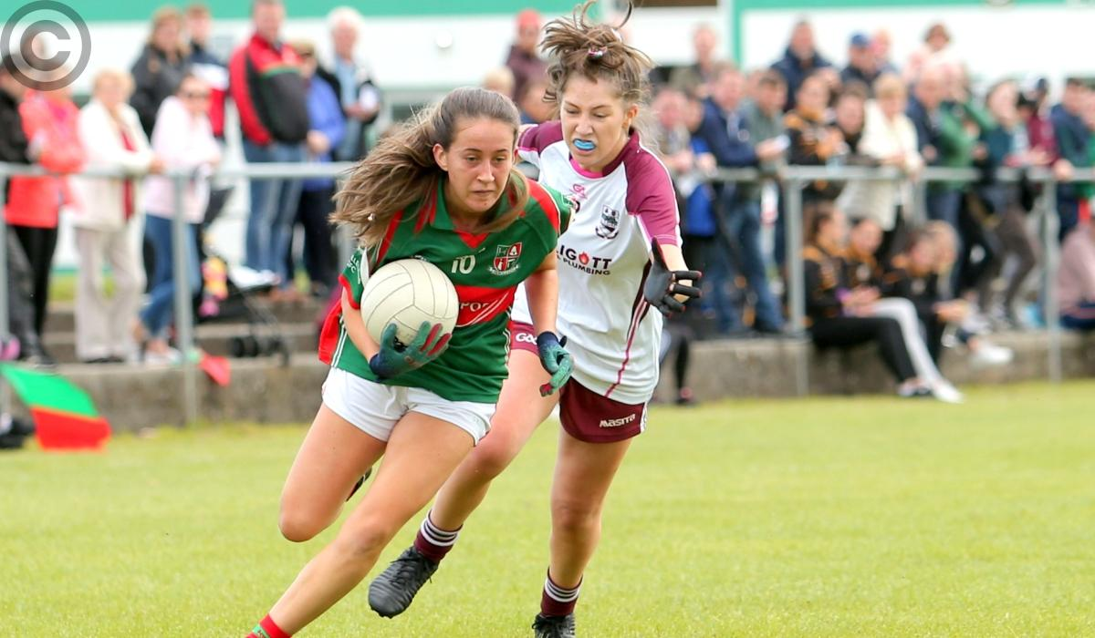 Longford Ladies JFC Final: Michelle Farrell the shooting star as Colmcille capture the Junior title - Longford Leader