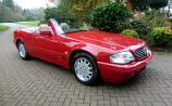 Mercedes-Benz SL500 whose owner lost the keys and never drove again sells for world record price