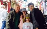 Longford family thrilled to meet Game of Thrones Thomas Brodie-Sangster