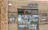 Longford Medical Centre Graffiti