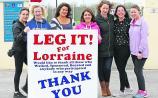 Leg it for Lorraine