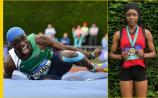 Longford's Nelvin Appiah and Funmi Talabi strike gold at All Ireland Schools' athletics championships