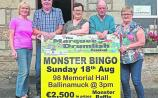 Marquee in Drumlish: Ten years of Monster bingo and over €30,000 raised for charity