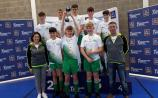 Gold medal glory for Longford athlete Funmi Talabi and Killoe futsal team at Aldi Community Games National Festival