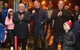 GALLERY| Multiple All-Ireland winner on hand to turn on Granard Christmas lights