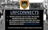 Longford rugby club launches LRFConnects Covid-19 initiative