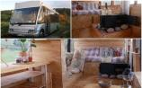 WATCH: Take a tour of this bus converted into a tiny home on wheels - and it's for sale!