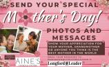 Make it a very special Mother's Day by sending the Longford Leader your photos and messages