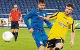 First half goals clinch win for Longford Town in cup clash with Waterford United