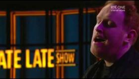 WATCH | Gavin James performs Somewhere Over The Rainbow on The Late Late Show