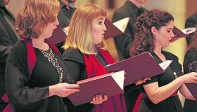 Pictures | Choral music and poetry treat 'A Time for Everything' in St Mel's Cathedral Longford