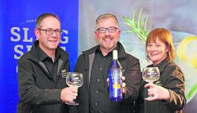 Pictures | Lanesboro in high spirits as Lough Ree Distillery officially launches its new Sling Shot Gin