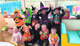 Longford Leader gallery: Stonepark's Kids Paradise creche gear up for Halloween with hugely successful Trick or Treat Day