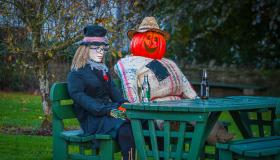 Pictures | Village of Abbeyshrule goes all out for Halloween with its 'Ghoul-Scare Trail'