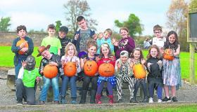 Longford Leader gallery: St Bernard's National School, Abbeylara pupils get 'pumpkined' up for Halloween