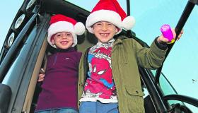 Longford Leader gallery: Abbeyshrule 10th Community Christmas Craft Fair & 'Drive Into The Night' Tractor Run