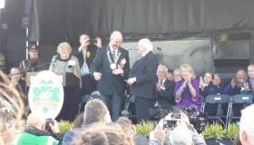 WATCH: President Michael D Higgins officially opens the Ploughing Championships 2018