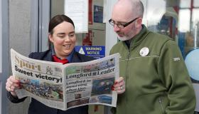 PICTURES   New-look Leader proves a big hit with readers!