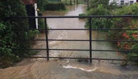 WATCH | Dangerous flash floods across Longford following torrential rainfall