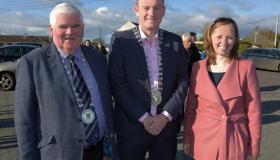 Longford Leader gallery: Fr Nigel opens Lisryan Community Park