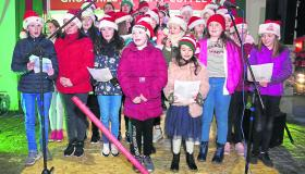 Longford Leader gallery: Crowds turn out for Edgeworthstown Christmas lights switch on