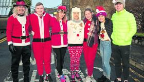 PICTURES | Festive fun at Longford's Goal Mile run on Christmas day