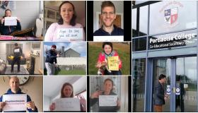 WATCH | Teachers from a midlands school send morale boosting message to their students