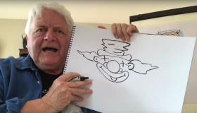 WATCH: Iconic Irish artist Don Conroy launches 'Draw with Don' Youtube channel to inspire a whole new generation