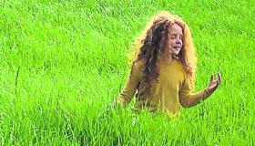 'Waiting in the long grass until we can hug again'
