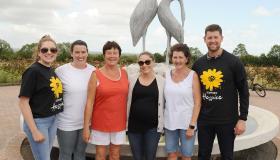Casey family in Newtowncashel host 7km for 7 Days Challenge for Longford Hospice