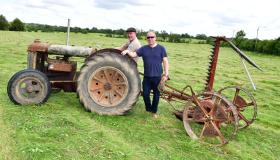 Gallery | Vintage mowing display on  Ballymahon farm