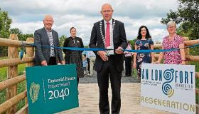 Longford Leader gallery: New walkway links Newcastle Woods to the Royal Canal