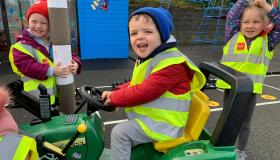 GALLERY | Longford children learn about the importance of road safety on Beep Beep Day at Kids Paradise