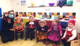 GALLERY | Halloween frights and spooks aplenty for Longford children at Kids Paradise in Stonepark