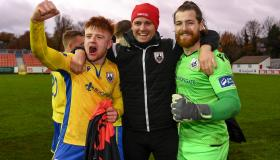 GALLERY | Longford Town players and Section O savour sweet victory