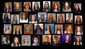 WATCH | 'Keep Holding On' - A powerful message from students of Longford's Evolution Stage School