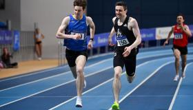 Sensational run sees Longford's Cian McPhillips smash national junior record in one of the fastest indoor 800m in Irish athletics history