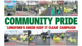 PICTURES | Longford rallies against litter louts in 'Longford's Green Keep It Clean' campaign