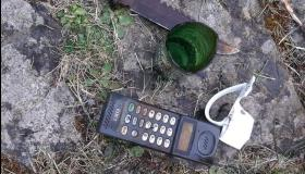 PHOTOS   'Is this a dagger which I see before me' - Longford scuba divers find dagger and phone during Barley Harbour dive