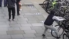 VIDEO: See how easy it is to steal a bike on busy street