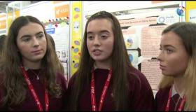 WATCH |  Ballymahon students survey 100 farmers as part of their project for 55th BT Young Scientist & Technology Exhibition #BTYSTE