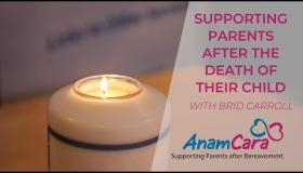 WATCH: Anam Cara launches new online resource for vulnerable recently bereaved parents