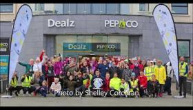 Longford gripped by health and fitness bug as 500 take part in RTE Operation Transformation walks