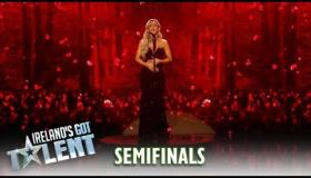 WATCH | Praise for star quality of Longford singer Sharyn Ward as she progresses to Ireland's Got Talent Grand Final with mesmerising rendition of Black is the Colour