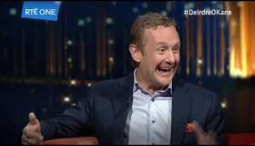 Deirdre O'Kane Talks Funny with PJ Gallagher this Saturday night on RTÉ One