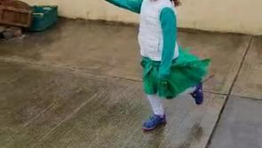 WATCH: North Longford family hold St Patrick's Day Parade in front of solitary crowd member
